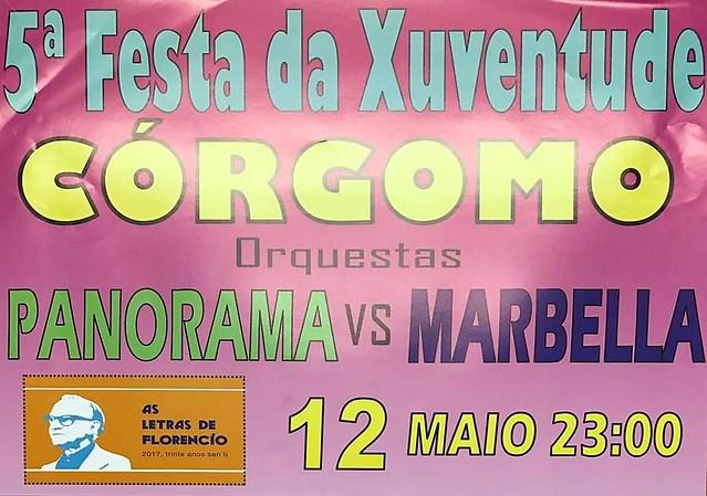 Vilamartín de Valdeorras 2017 - 5 Festa da Xuventude de Córgomo - cartel
