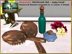 Bliensen - Rapunzel - Hairbrush Set