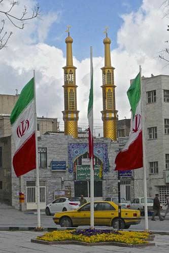 iran persia hamadan small mosque earthasia