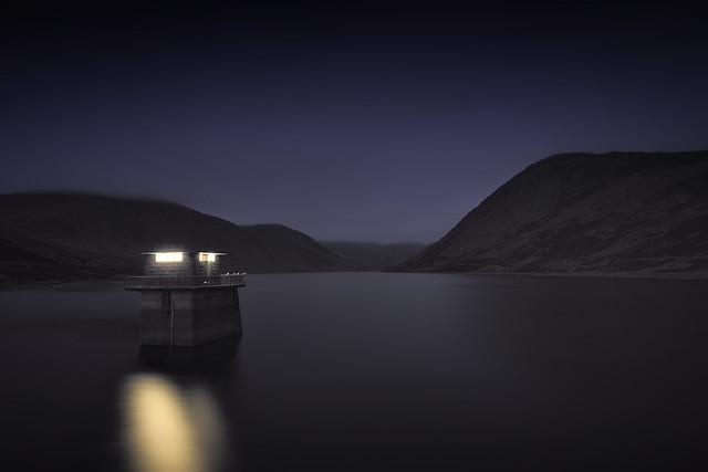 Loch Turret by Night