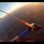 Proximity Parachute Flying With Steve A. and Christina Kase