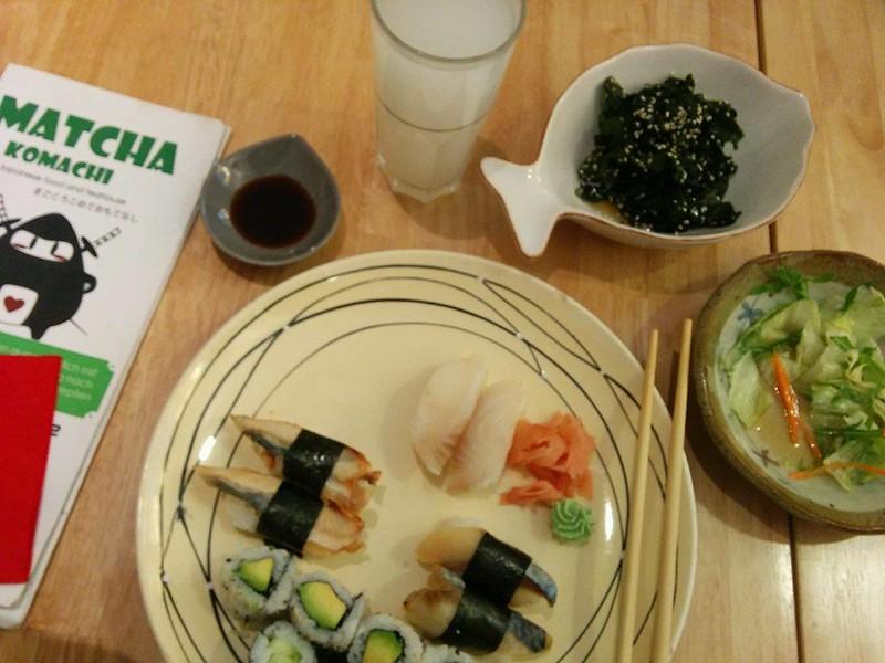 Matcha Komachi, A Small But Diverse Foodie Shop