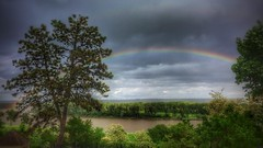 Rainbow over the Missouri