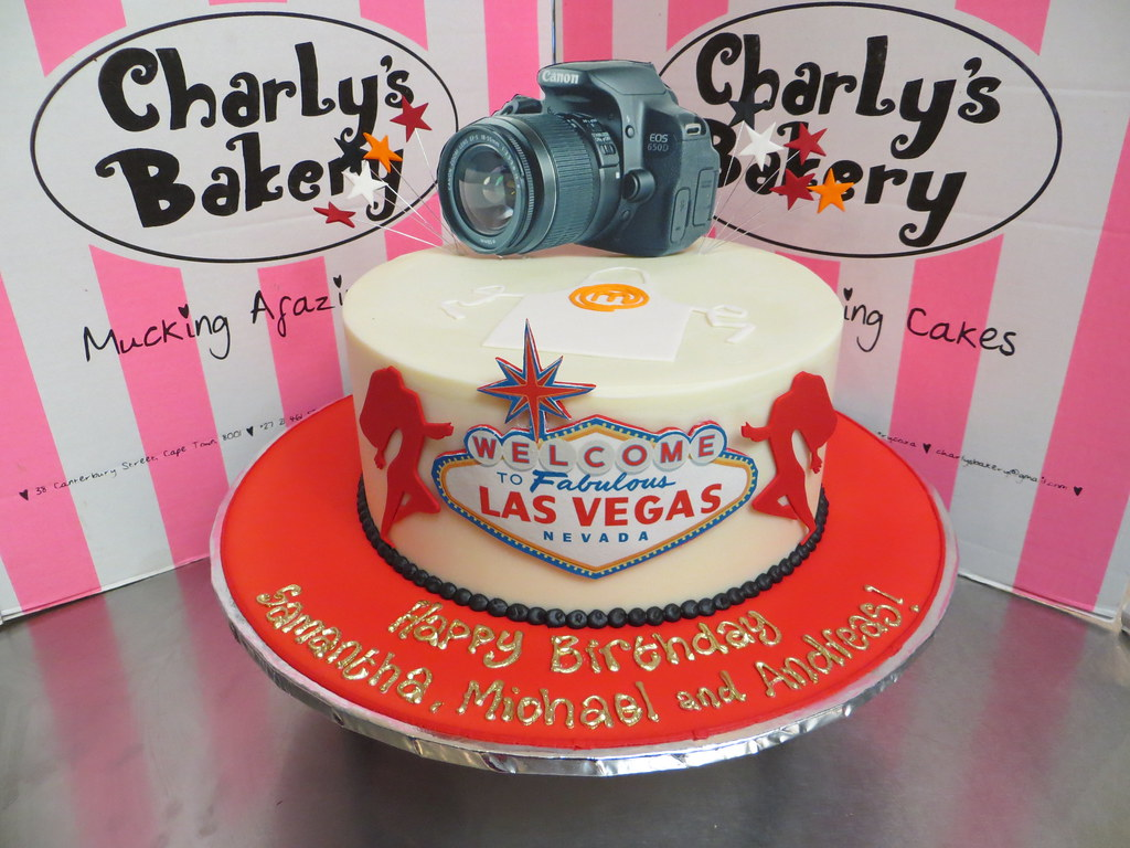 Single Tier Birthday Cake For 3 People Combined Themes Photography Las Vegas MasterChef