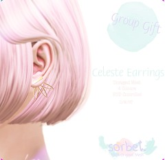 Sorbet. Celeste Earrings