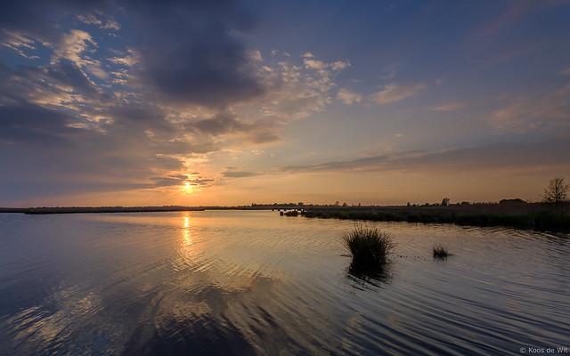 Sunset at Matsloot