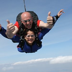 Tandem Student Devin and Instructor Rick Sales