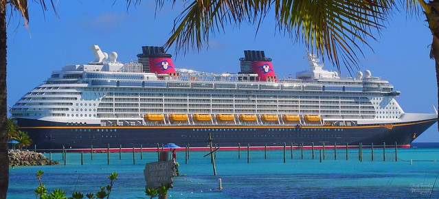 Disney Fantasy at Castaway Cay