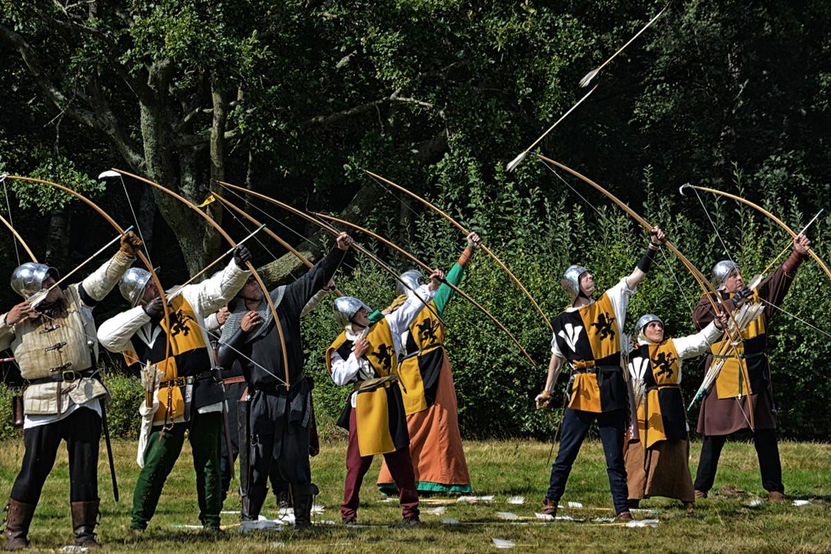 Herstmonceux Medieval Festival. Credit Vicki Burton, flickr