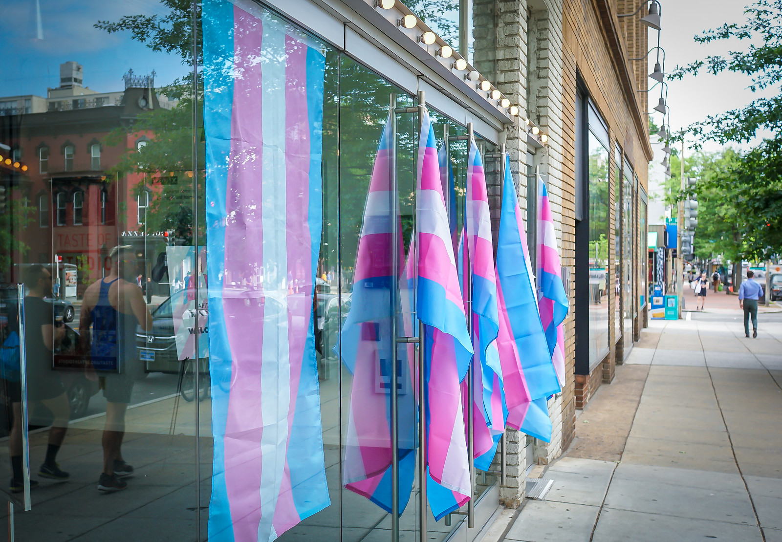 Thanks for publishing my photo, DCist, in Transgender Survey Shows Dismaying Discrimination Rates In D.C.