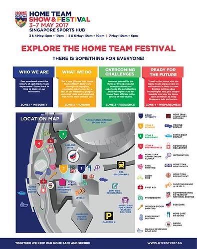 2017 Hometeam Festival map