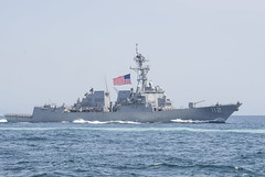 USS Michael Murphy (DDG 112) operates in the Western Pacific, May 3. (U.S. Navy/MC2 Nathan K. Serpico)
