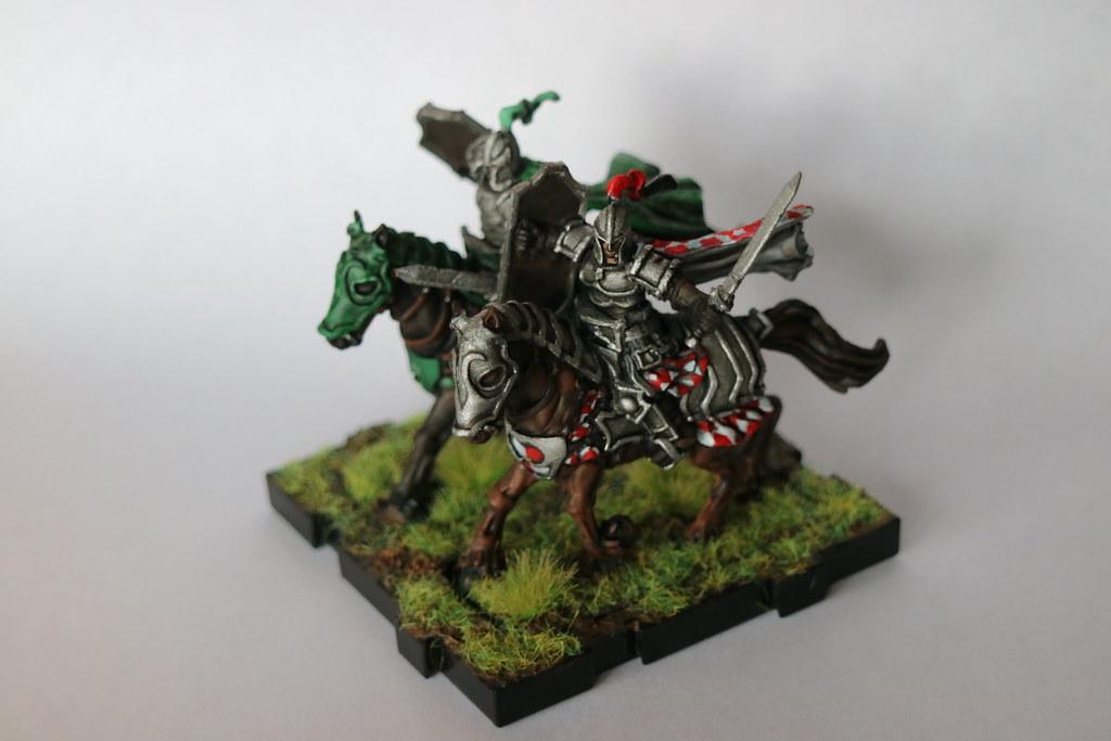 Runewars Miniatures Daqan Knights Front 1