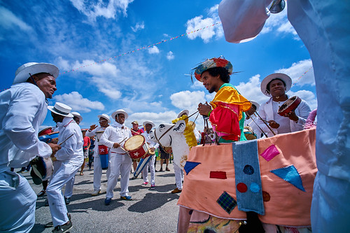 Cuba Cultural Exchange on Day 4 of Jazz Fest 2017 - May 4. Photo by Eli Mergel.