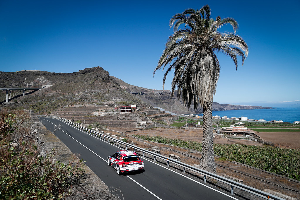 19 GRZYB Grzegorz (POL), ZAWADA  Przemyslaw (POL), Skoda Fabia R5, Action during the 2017 European Rally Championship ERC Rally Islas Canarias, El Corte Inglés,  from May 4 to 6, at Las Palmas, Spain - Photo Alexandre Guillaumot / DPPI