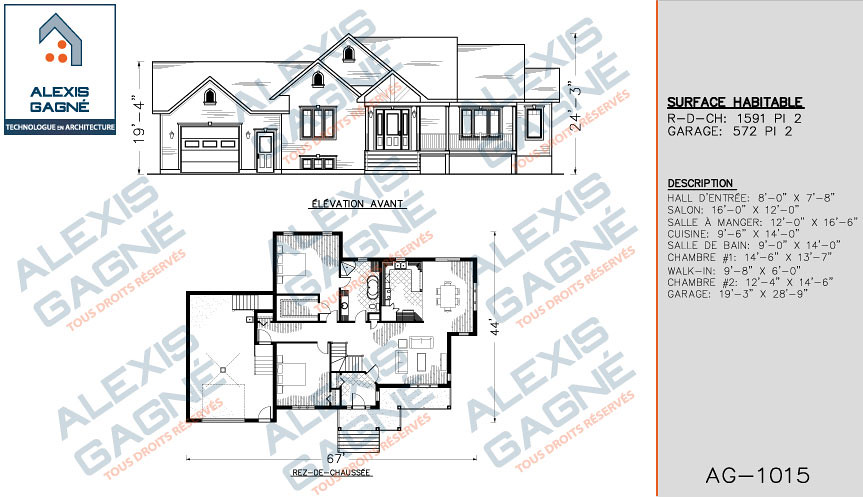 maison 1 etage avec garage victoriaville alexis gagn. Black Bedroom Furniture Sets. Home Design Ideas