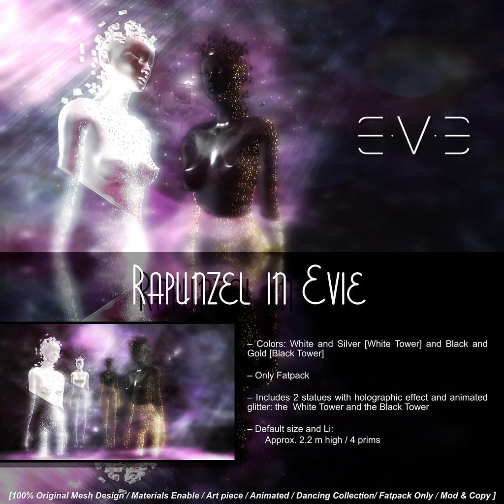 E.V.E Rapunzel in Evie [Info] - SecondLifeHub.com