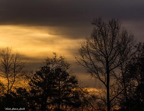 clouds nature sunset sundown