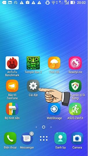 Hướng dẫn tắt Wifi khi ngủ để tiết kiệm Pin trên Asus Zenfone - Tắt Wifi điện thoại Asus Zenfone