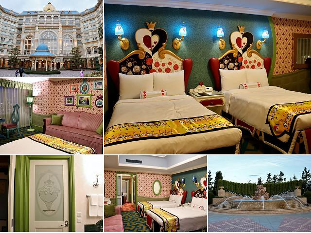 【日本飯店】迪士尼樂園飯店 愛麗絲夢遊仙境主題房