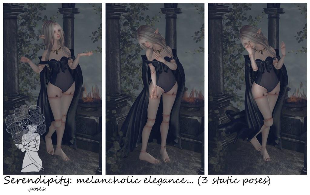 Serendipity: melancholic elegance... @ HASHTAG - SecondLifeHub.com