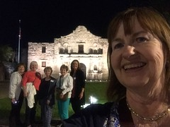 113/365 AND Day 3785: Alamo @ Night
