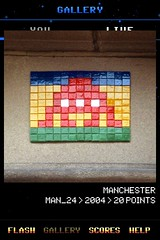 MAN_24 , Invader, Flash Invaders, street art Manchester
