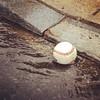 #Abandoned #Balls of #Stamford #baseball in a #rainstorm #gutterball