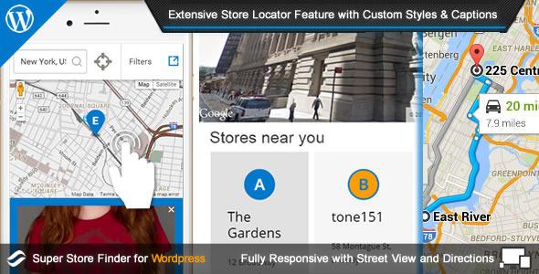 Super Store Finder for Wordpress v3.5