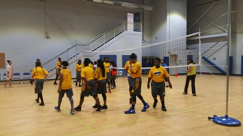 TEECS VOLLEYBALL TEAM ON THE FIELD TO FIRST GAME