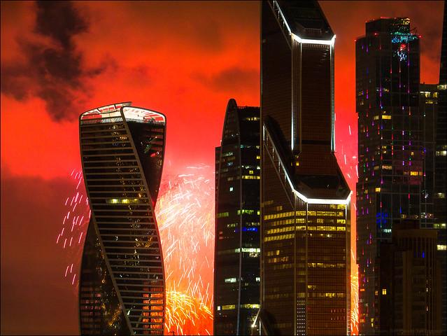 Russia. Moscow. Moscow City, Panasonic DMC-G3, Lumix G Vario HD 14-140mm F4.0-5.8 Asph. Mega OIS