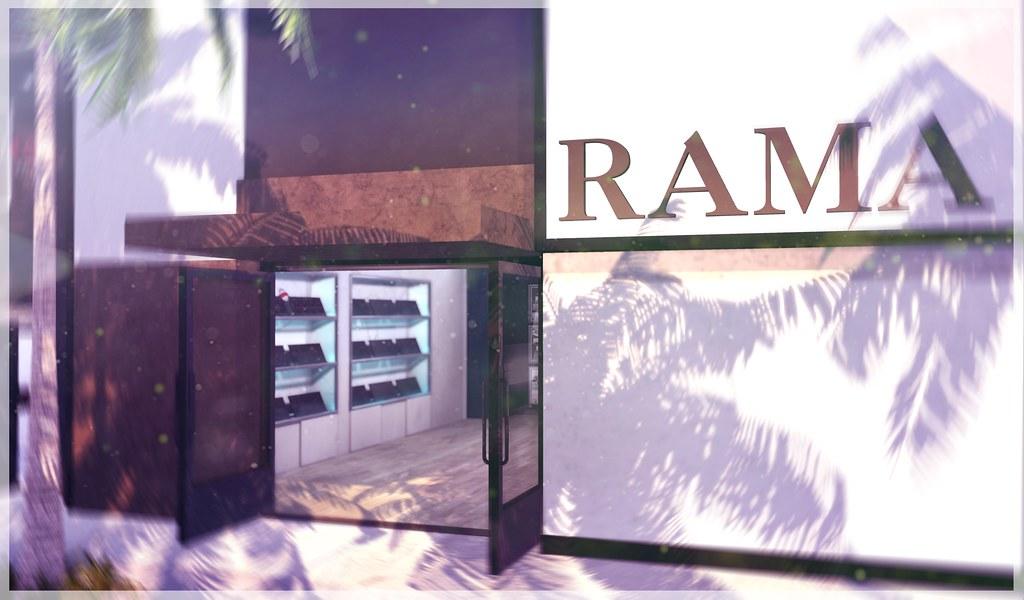 RAMA Designer Drive Store - SecondLifeHub.com