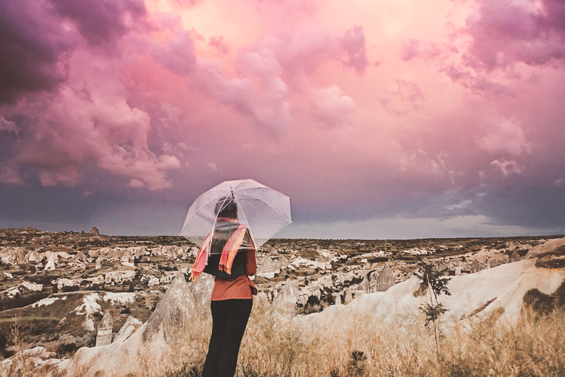 Sky. Cappadocia, Turkey