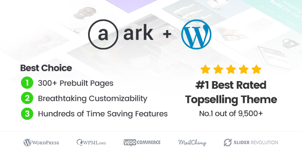 The Ark v1.18.1 - Multi-Purpose WordPress Theme