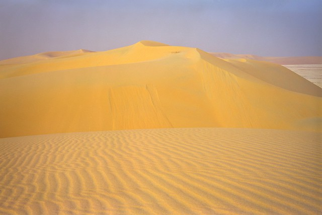 Sandy Peaks Of The Southern Dune