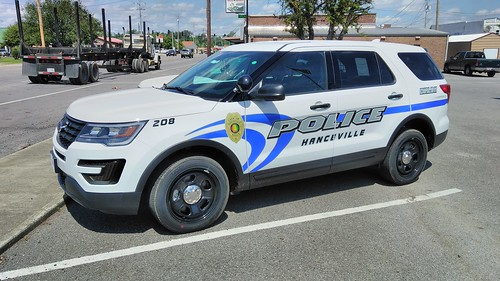 Hanceville PD New Car Side angle