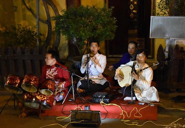 Hanoi Street Musicians