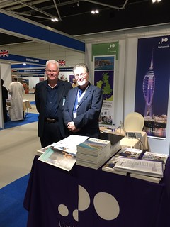 martyn and I at GHEDEX in muscat