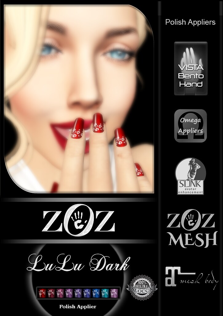 {ZOZ} LuLu Dark pix L - SecondLifeHub.com