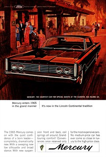 1965 Mercury Park Lane 4-Door Hardtop