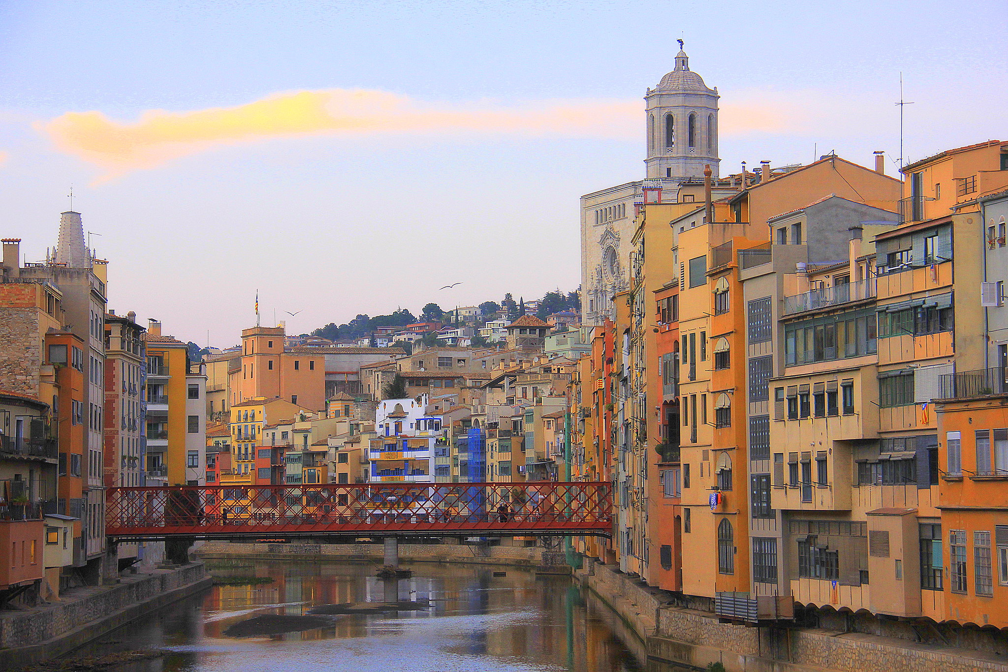 Girona is postcard pretty