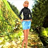 Prism Jezzixa Skirt & Cable Sweater Set by Jezzixa in BLACK