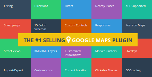 Advanced Google Maps v4.0.1 - Plugin for Wordpress