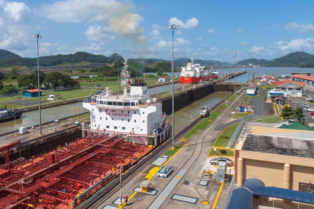 Panama. Panama Canal