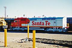 Santa Fe FP45 No. 106 At San Bernardino