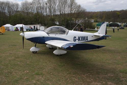 G-KIMA Zenair CH601XL Popham 290417