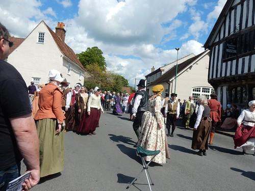 Many locals still wear medieval dress.