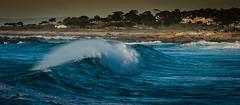 A Large Wave at Spanish Bay