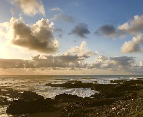 sunet ocean pacificocean
