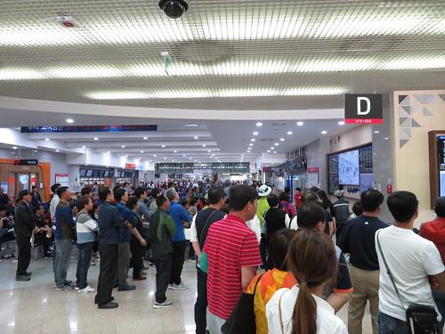 釜山慶南競馬場の混雑具合